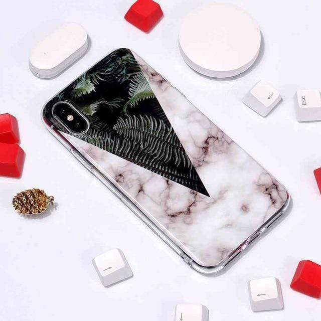 MORE SELECTIONS! Instagram Fashion Marble Shockproof iPhone Case - Mixi Iphone Case