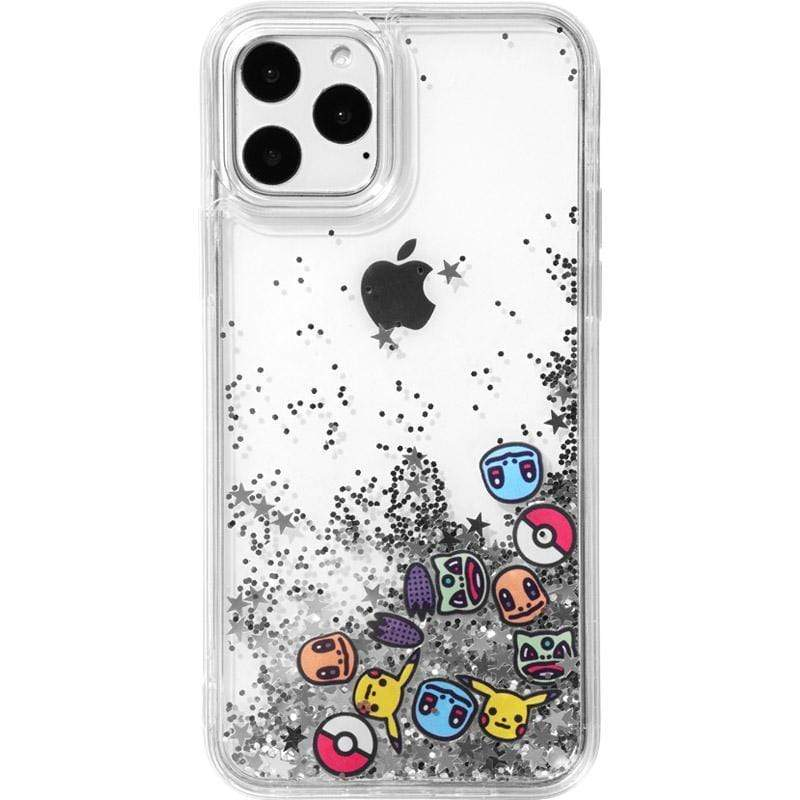 Pokemon Style Quicksand Silicone Shockproof Protective Designer iPhone Case For iPhone 11 Pro Max X XS Max XR 7 8 Plus - Mixi Iphone Case