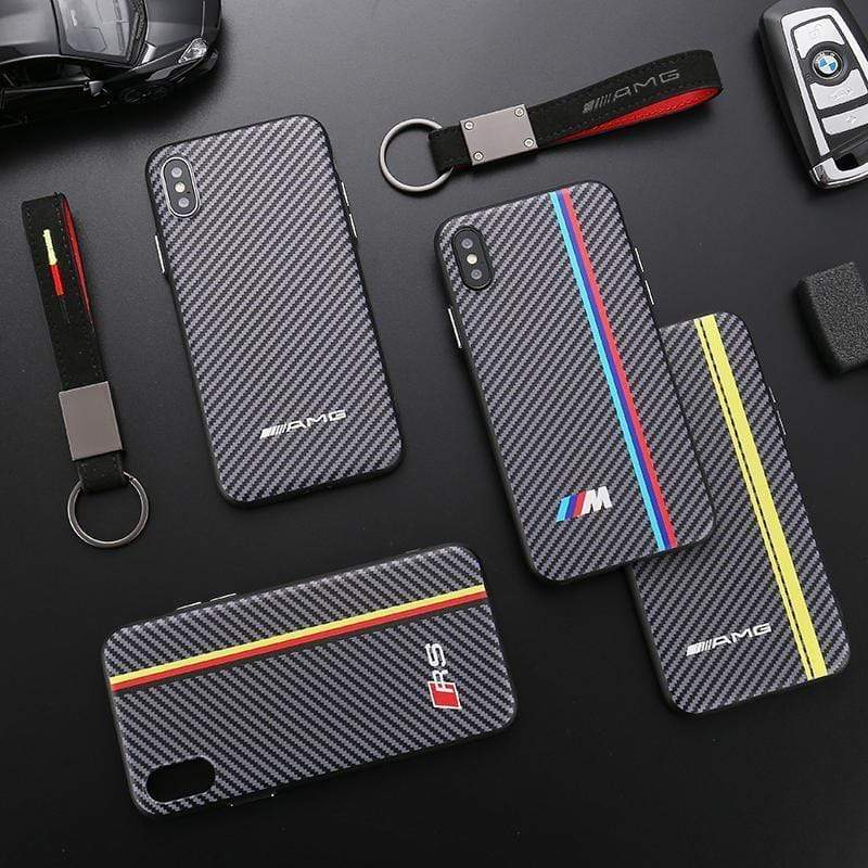 Sports Car AMG RS BMW M Series Carbon Fiber iPhone Case - Mixi Iphone Case