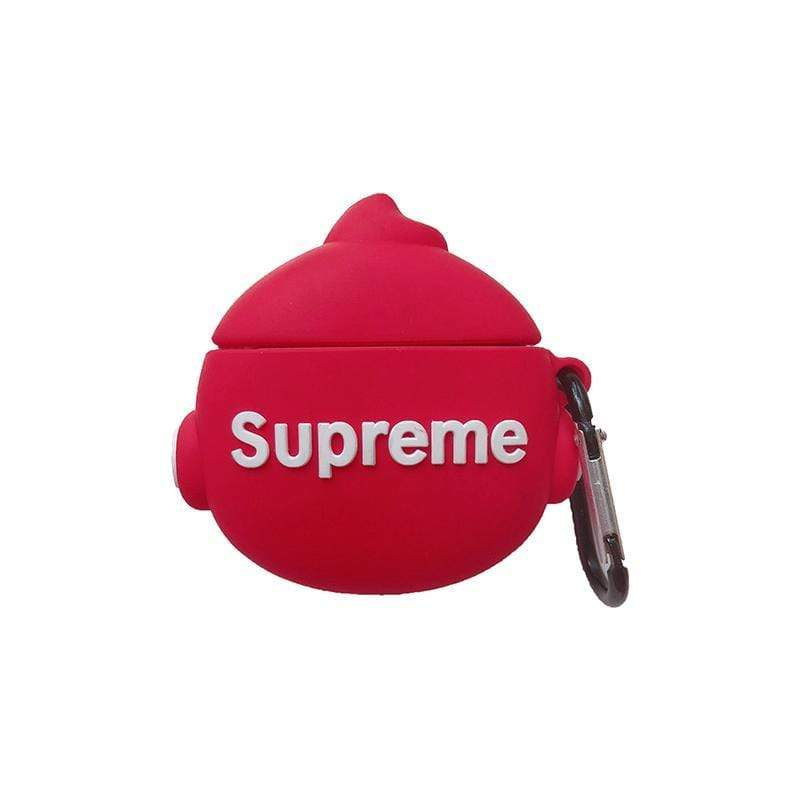 Supreme Style Face Silicone Protective AirPods 1 & 2 Case - Mixi Iphone Case