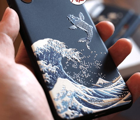 iPhone 11 The Great Wave Kanagawa Ukiyo-e Silicone Designer iPhone Case For iPhone 11 Pro Max X XS XS Max XR 7 8 Plus