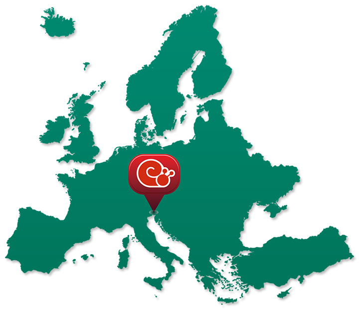 Ciciban European Map