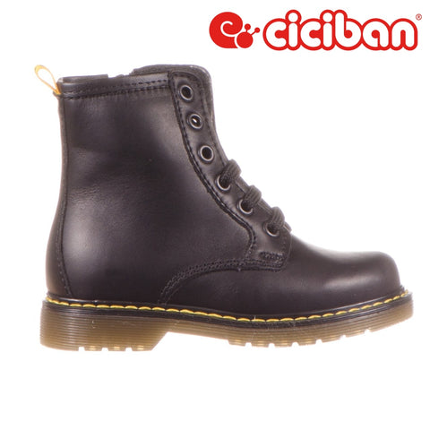 Marty Black 00 - Fleece Lining Side Zipper Boot