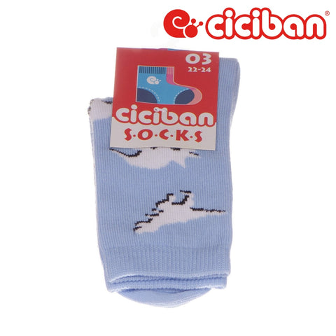 Socks - Dino Mix Light Blue Extras