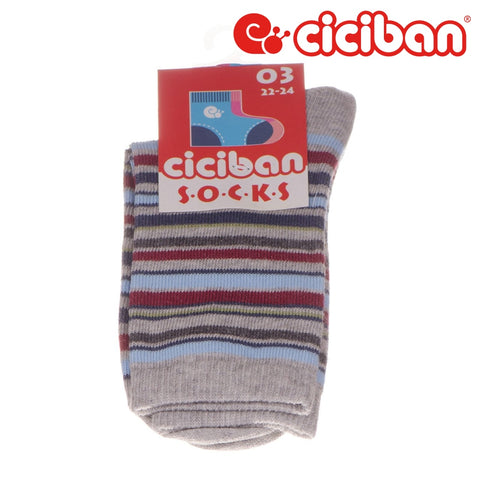Socks - Multi Stripe Grey Extras