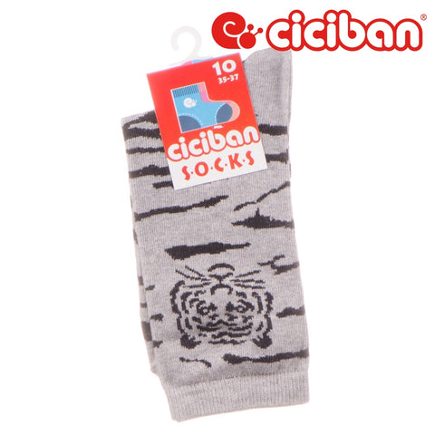 Socks - Tiger Grey Extras