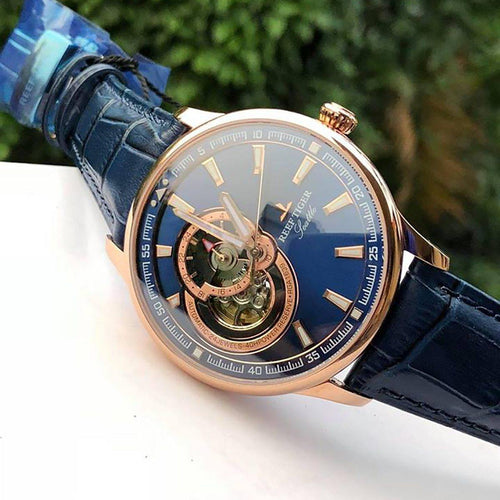 Reef Tiger/RT Dress Men Watch Blue Tourbillon Watches Top Brand Luxury Automatic Mechanical Watch Relogio Masculino RGA1639 - jewelrycafee