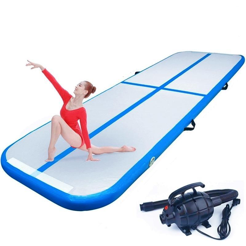 10ft Inflatable Gymnastics Mat - Blue
