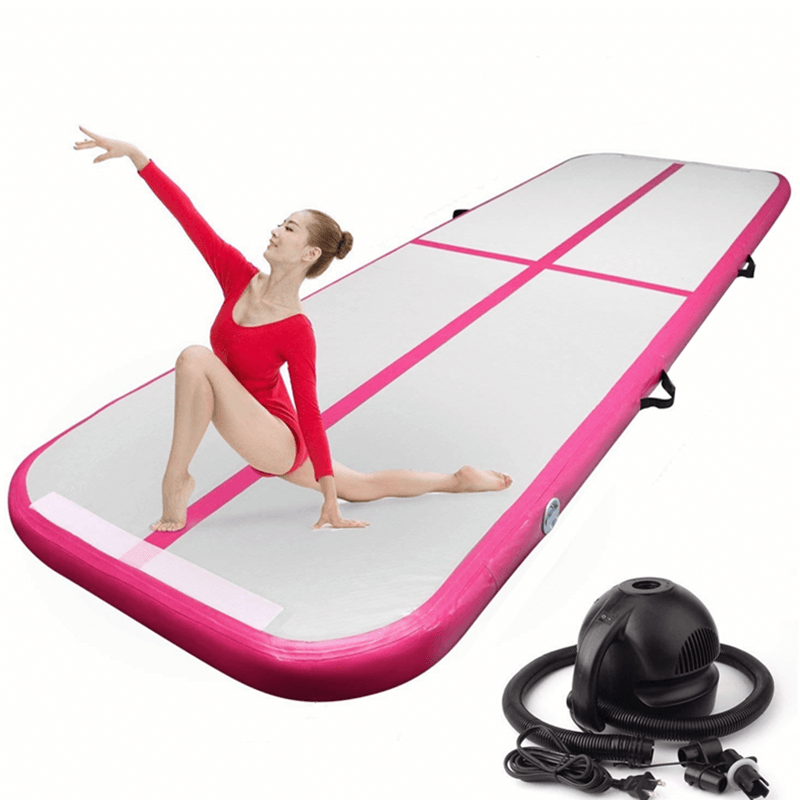 10ft Inflatable Gymnastics Mat - Pink