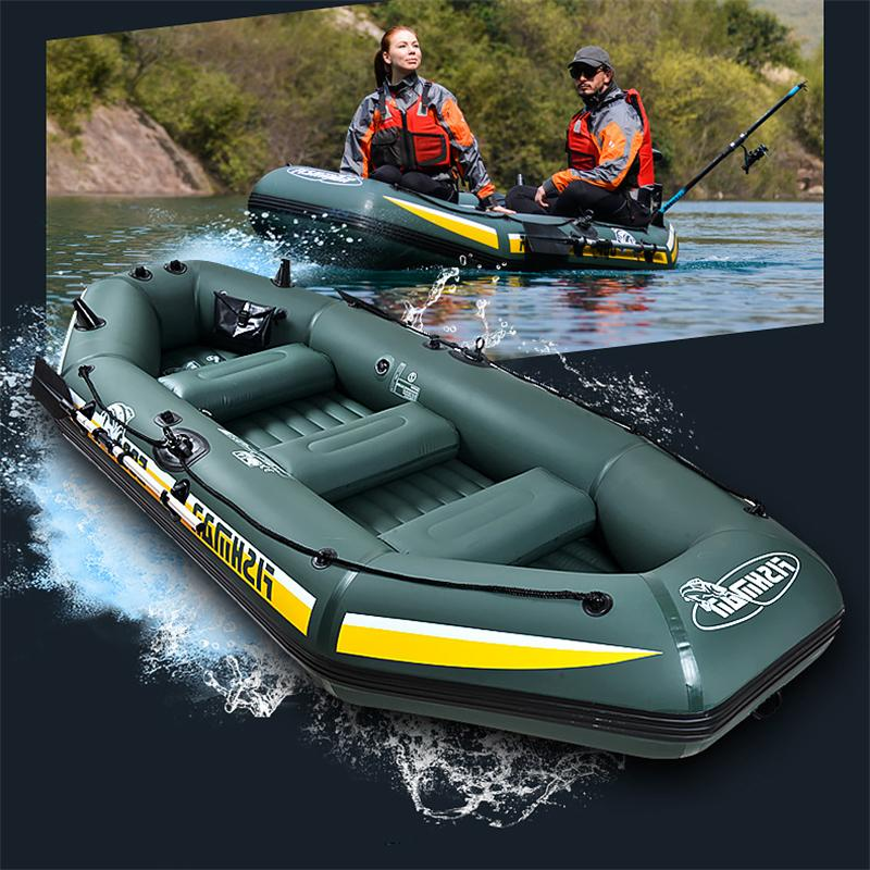PVC Inflatable Rowing Air Boat
