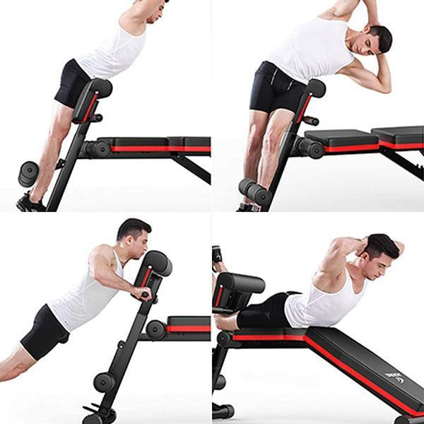 Adjustable Weight Foldable Workout Bench