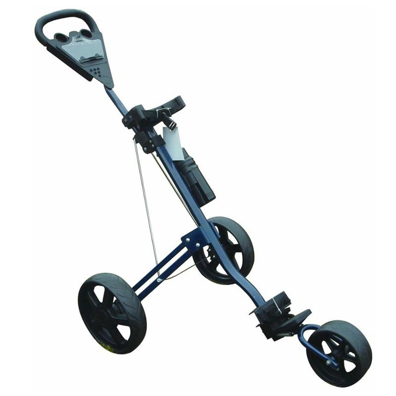 3-Wheel Folding Golf Push Cart
