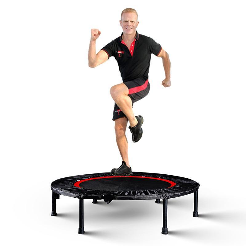 40'' Mini Fitness Foldable Trampoline - Red