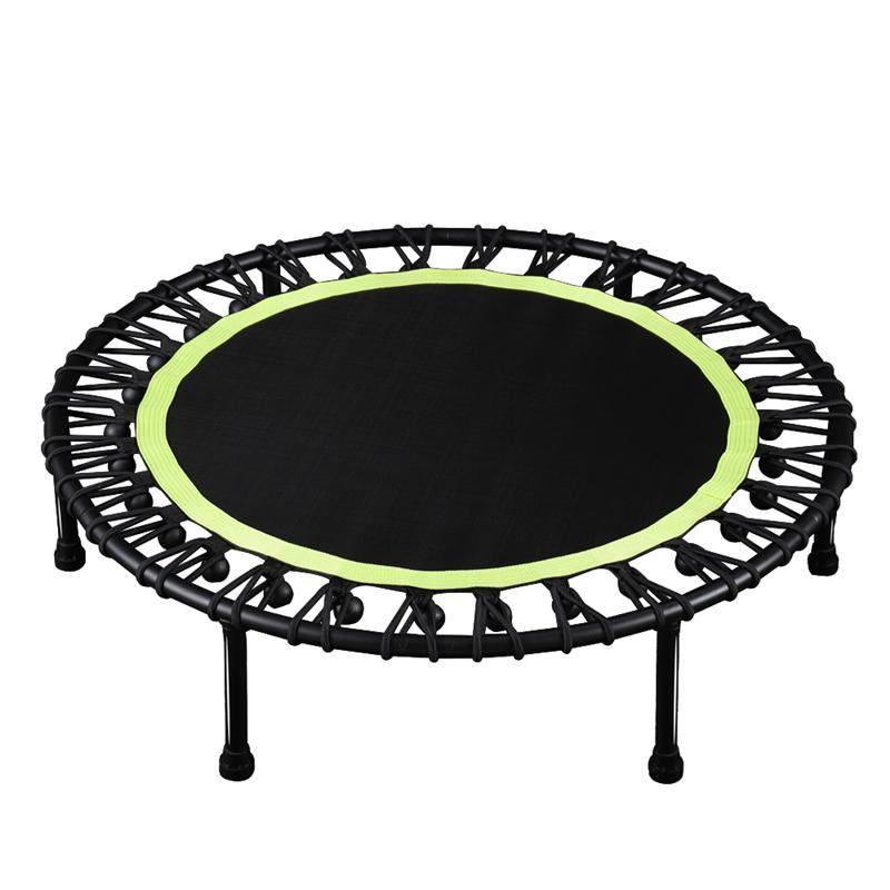 40'' Mini Round Fitness Trampoline - Green
