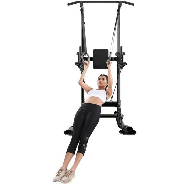 Power Tower Pull Up Bar-661lbs Weight Capacity