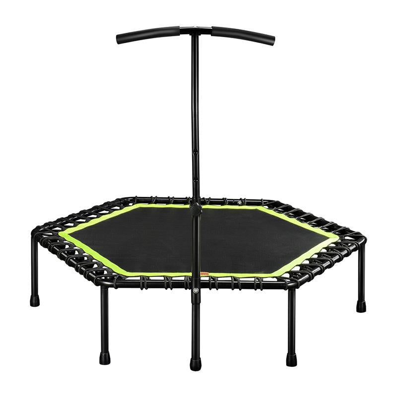 53'' Silent Fitness Mini Trampoline - Green