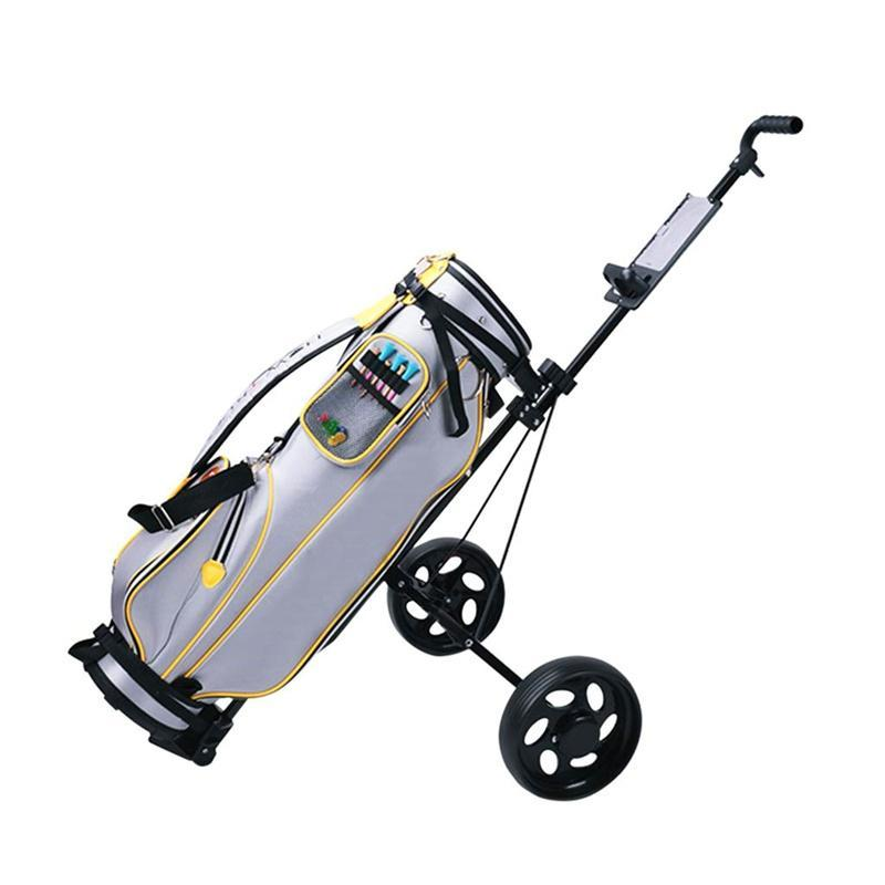 Foldable Golf Cart Trolley 2 Wheel