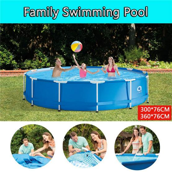 Metal Frame Set Above Ground Swimming Pool