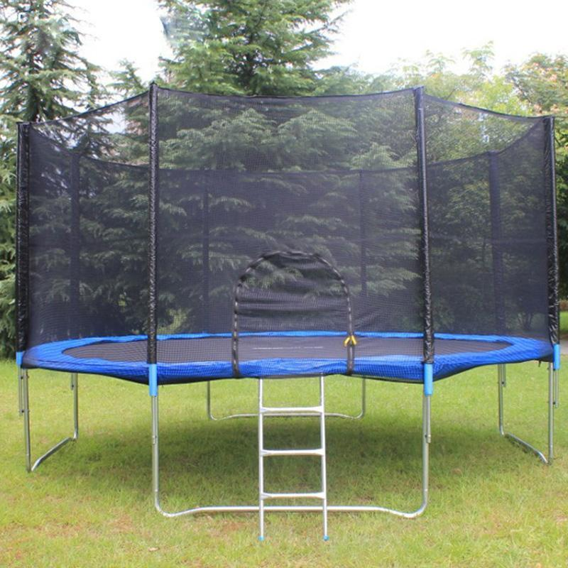 14ft Kids Trampoline with Ladder