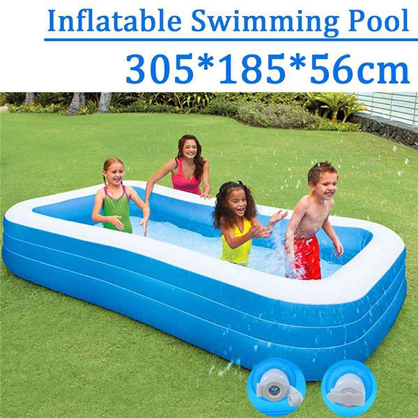 Large Size Inflatable Square Swimming Pool