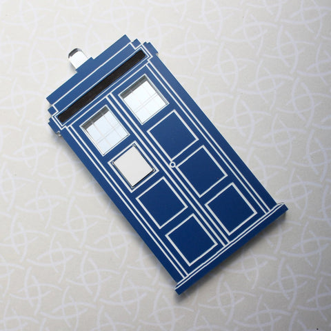 Tardis/Police Box brooch