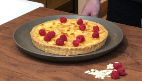 Great British Bake Off's Iain Watters creates original cardamom & raspberry custard tart for üutensil
