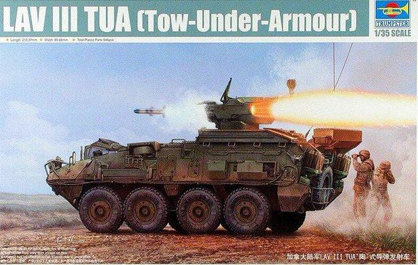LAV III TUA (Tow-Under-Armour) (Trumpeter)