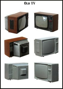 Old TV (Evolution Miniatures)