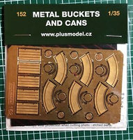 1/35 Metal Buckets and Cans (Plus Model)