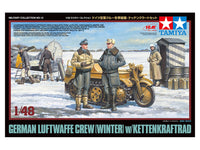 1/48 German Luftwaffe Crew (Winter) w/Kettenkraftrad (Tamiya)
