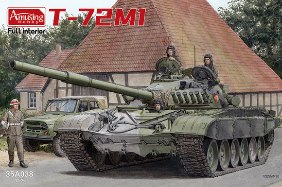 T-72M1 w/Full İnterior (Amusing Hobby)