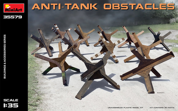 1/35 ANTI-TANK OBSTACLES (MiniArt)