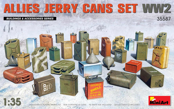 1/35 ALLIES JERRY CANS SET WW2 (MiniArt)