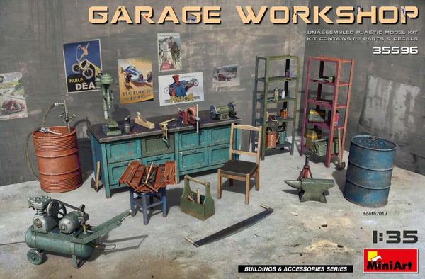 Garage Workshop (Miniart)
