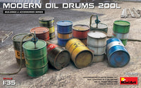 Modern Oil Drums - 200L (Miniart)