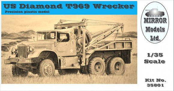 US Diamond T 969A Wrecker (Mirror Models)