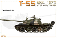 T-55 Mod.1970 with OMSh Tracks (Miniart)