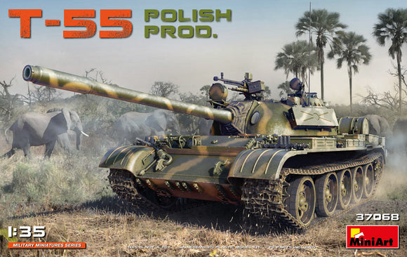 T-55 Polish Production (Miniart)