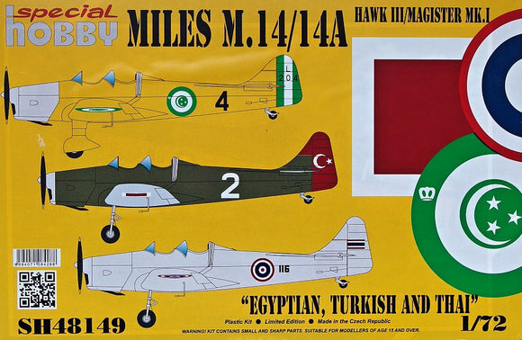 Miles M.14A Magister Mk.I (Egypt,Turkey,Thai) (Special Hobby)