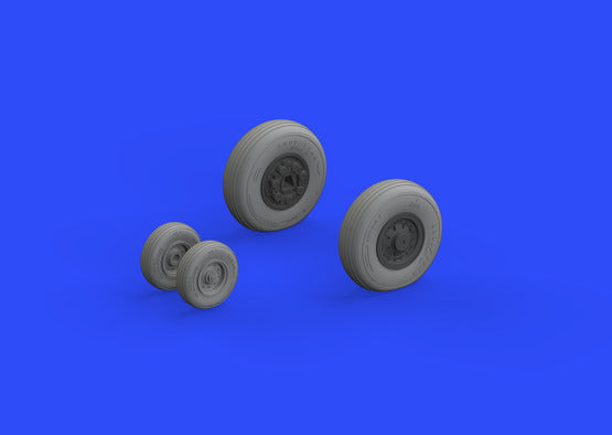 1/48 F-14A Wheels Early (Eduard Brassin)