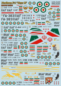 Northrop F-5 Tiger II (Print Scale)