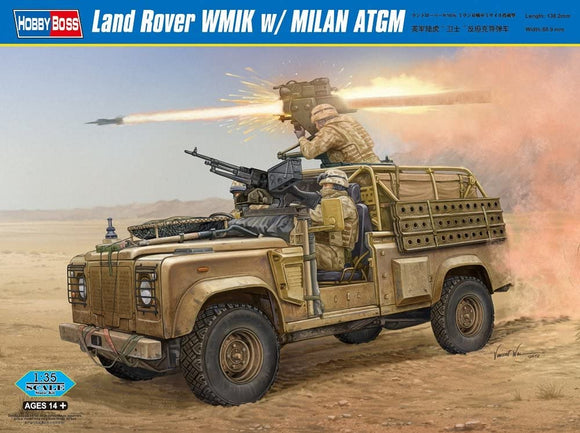 Land Rover WMIK with Milan ATGM (Hobby Boss)