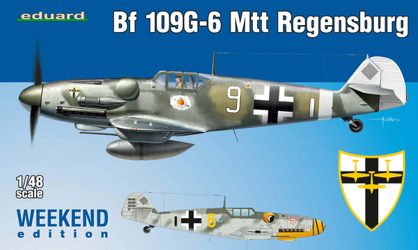 Bf 109G-6 Weekend Edition (Eduard)