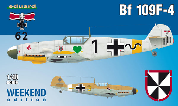 Bf 109F-4 Weekend Edition (Eduard)
