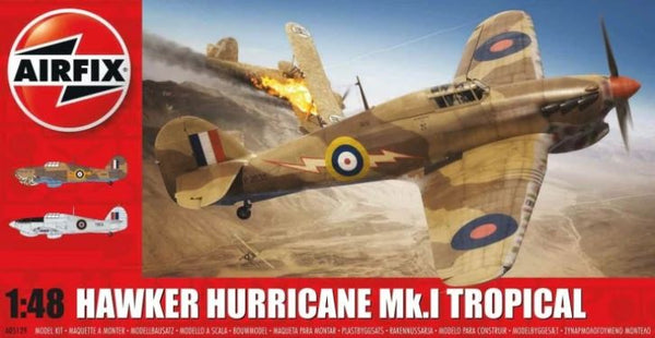 Hawker Hurricane Mk.I Tropical (Airfix)