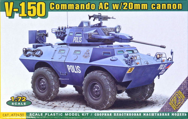 V-150 Commando AC w/20mm cannon (ACE)