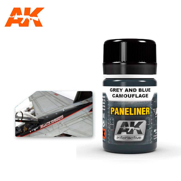 Paneliner for Grey and Blue Camouflage (AK Interactive)