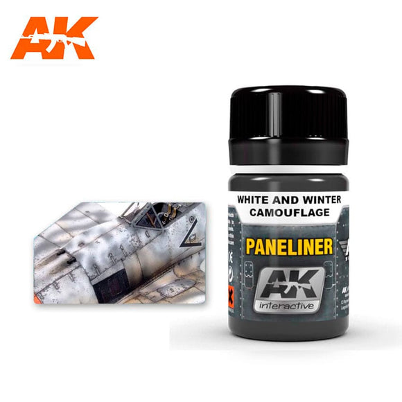 Paneliner for White and Winter Camouflage (AK Interactive)