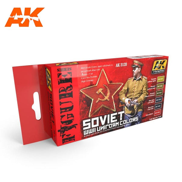 Soviet WWII Uniform Colors (AK Interactive)