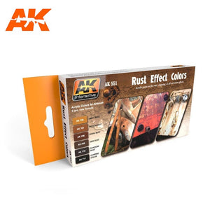 Rust Effect Colors (AK Interactive)
